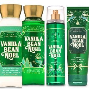 ❄Bath & Body Works Vanilla Bean Noel Bundle NEW❄